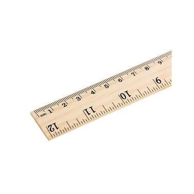 Liniuotė medinė 25cm