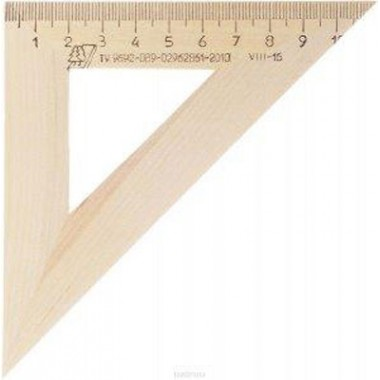 Trikampis medinis 45/110
