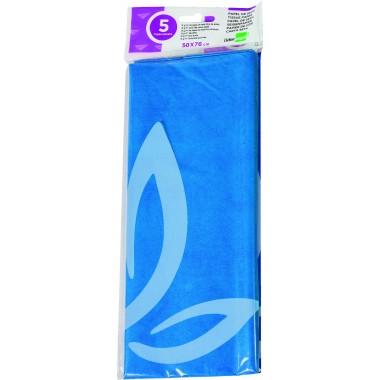 Popierius šilkin.18g,52x76,5lap.,BLUE