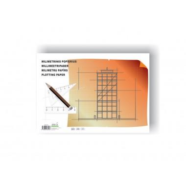 Milimetrinis popierius A4/20l MM-P(20)