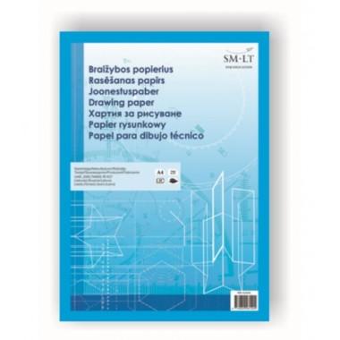 Popierius braižybai A4 10 PBR-4