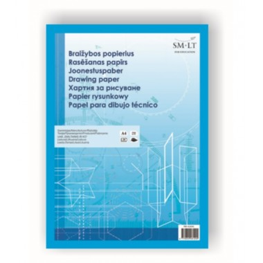 Popierius braižybai klij. PBR-4(20)KL