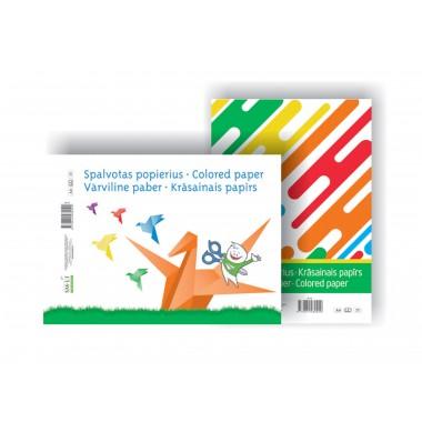 Spalv.popierius A4/8 l.vienp.SP-P8