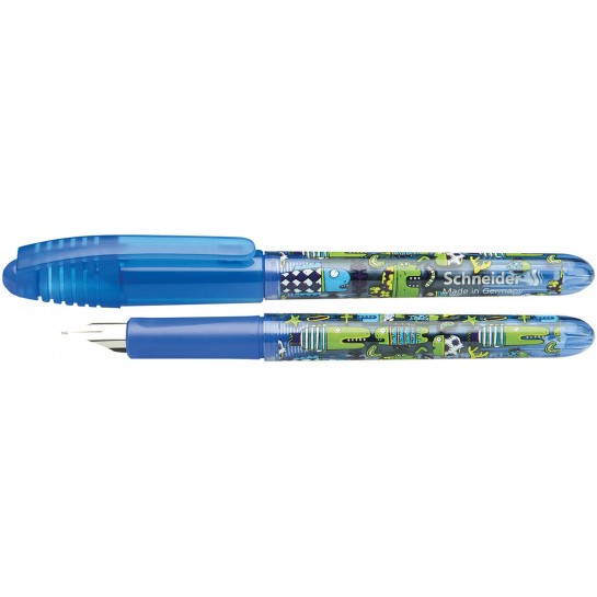 Plunksnakotis ZIPPI mėlynas*