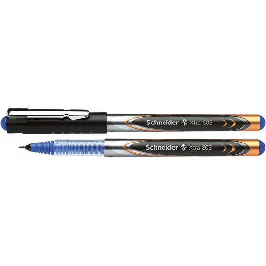 Rašiklis XTRA 803 0.3mm mėlynas