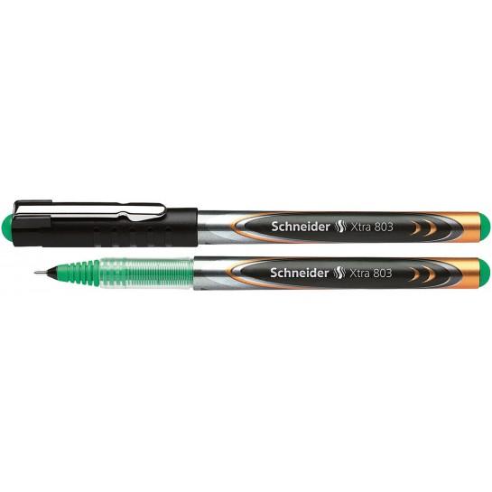 Rašiklis XTRA 803 0.3mm žalias