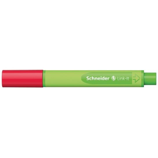 Rašiklis Link-It 0.4mm romatinė raud.