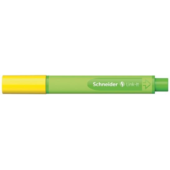 Rašiklis Link-It 0.4mm aukso geltona