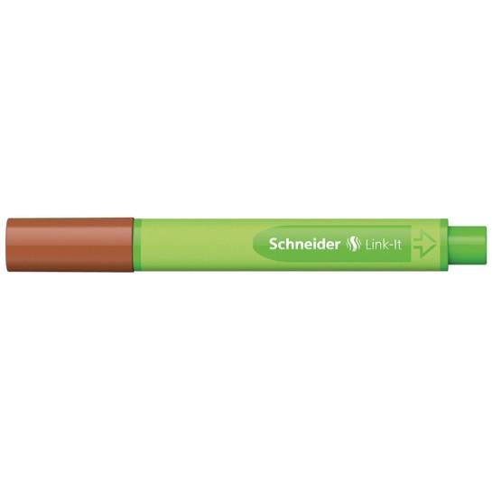Rašiklis Link-It 0.4mm raudonm.ruda