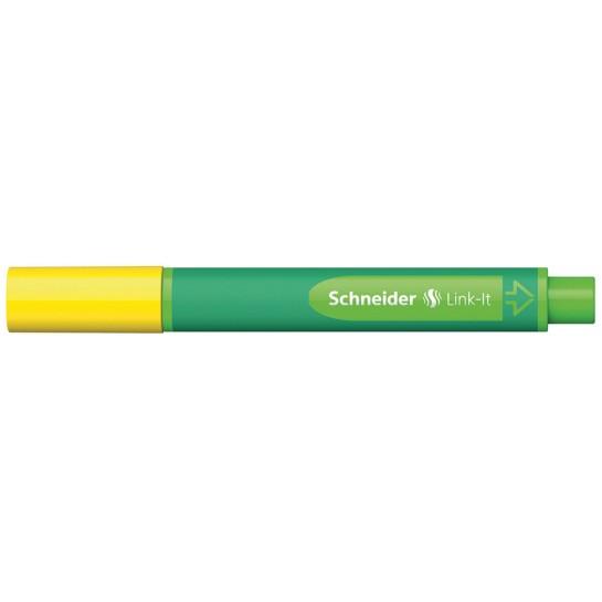 Rašiklis Link-It 1.0mm aukso geltona