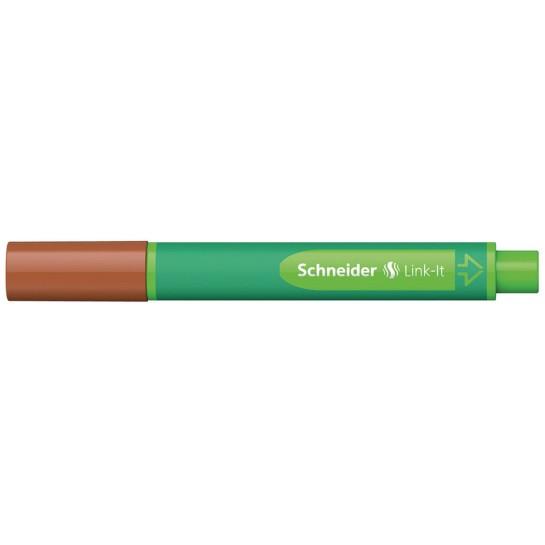 Rašiklis Link-It 1.0mm raudonm.ruda