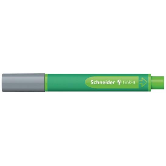 Rašiklis Link-It 1.0mm sidabr/pilkas