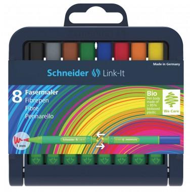 Rašiklių rink.Link-It 1.0 Schneider 8vnt