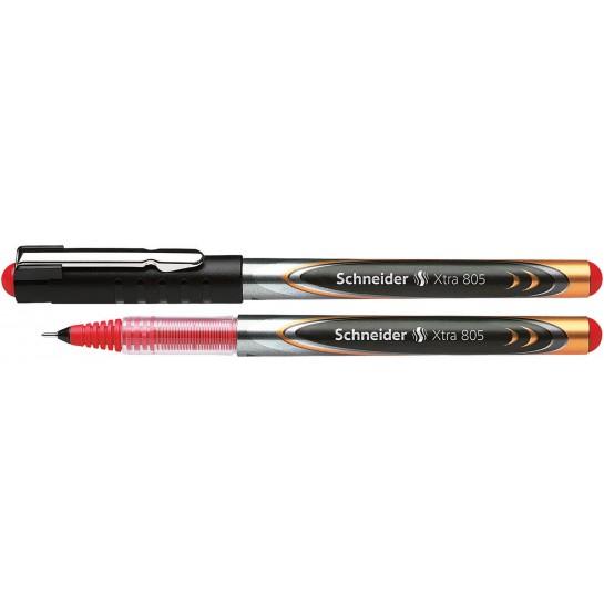 Rašiklis XTRA 805 0.5mm raudonas
