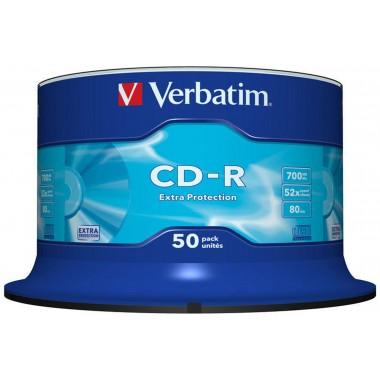 CD-R/DL Verbatim Extra protection 50vnt