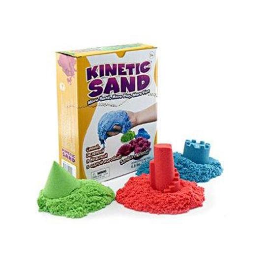 Kinetinis smėlis spalvotas 3kg