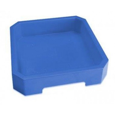 Dėžutė kinetiniam smėliui mėlyna