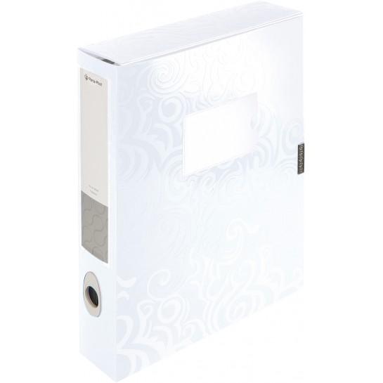 Aplankas-dėžutė balta