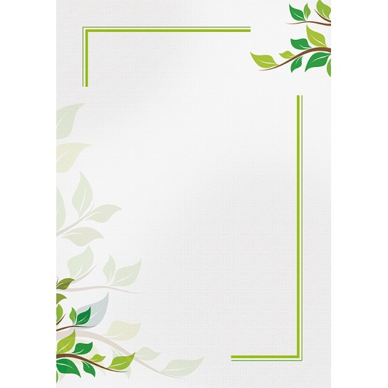 Dipl.popierius 170g Green