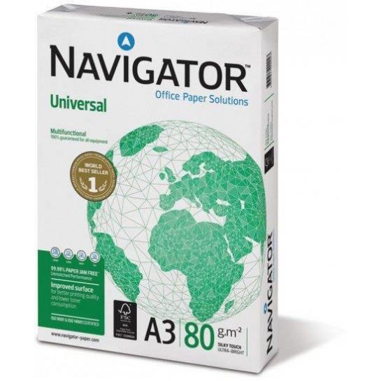 Kopij.popierius A3/80g/500 NAVIGATOR