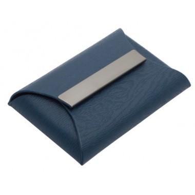 Vizit.kortelių dėklas FOLD t.mėlynas