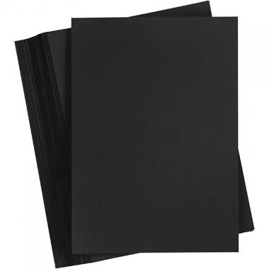 Juodas popierius A4 80g  laisva kort