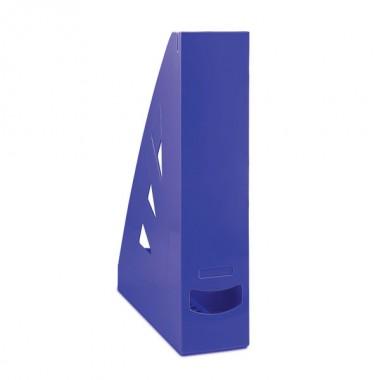 Stovas brošiūroms plastikinis, mėlynas