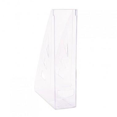 Stovas brošiūroms plastikinis, skaidrus