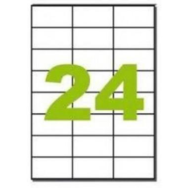 Lipnios etiketės 70x37mm (24)