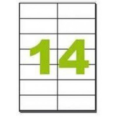 Lipnios etiketės 105x42.3mm    (14)