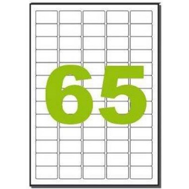 Lipnios etiketės 38.1x21.2(65)