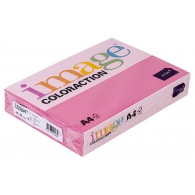 Spalv.popierius A4 80g. IC 22 rožinė