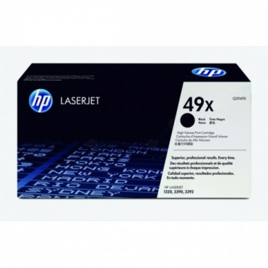 HP Cartridge No.49X Black (Q5949X)