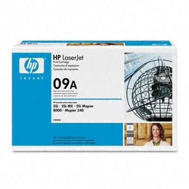 Hewlett-Packard C3909A Black