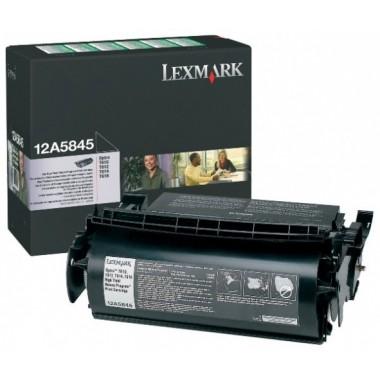 Lexmark Cartridge Black (12A5845) Return