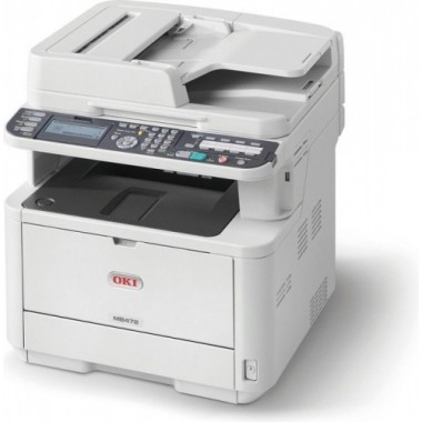 OKI MB472dnw Naujas spausdintuvas, lazerinis, juodai baltas
