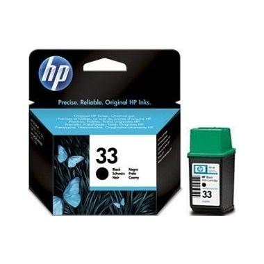 Hewlett-Packard 51633me Pasibaigęs galiojimas Juoda
