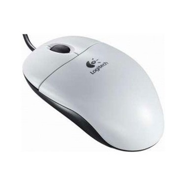 LOGITECH B100 Optical Mouse for Business White OEM