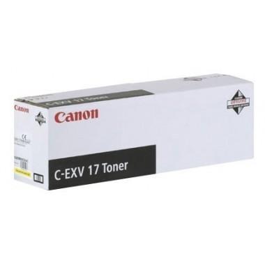Canon Toner C-EXV 17 Yellow (0259B002)