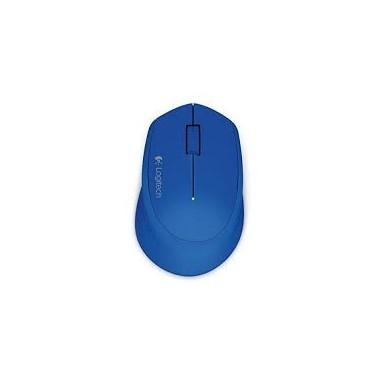 LOGITECH Wireless Mouse M280 - BLUE - 2.4GHZ - EWR2