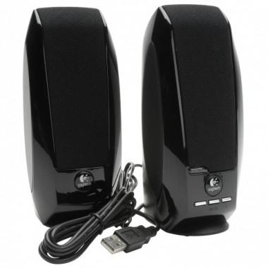 LOGITECH S150 1.2Watt RMS 2.0 USB Speaker Digital Stereo black for Business