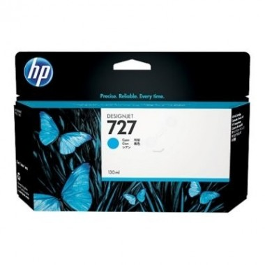 HP Ink No.727 Cyan (B3P19A)