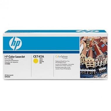 HP Cartridge No.307A Yellow (CE742A) B Grade