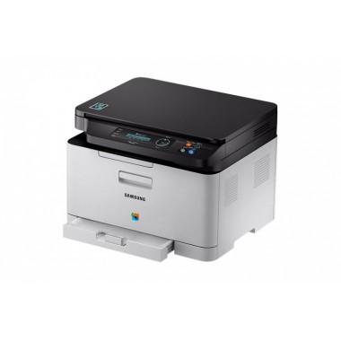 Samsung SL-C480W Naujas spausdintuvas, lazerinis, spalvotas, daugiafunkcinis