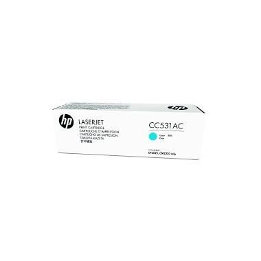 HP CONTRACT Cartridge No.304A Cyan (CC531AC) B Grade