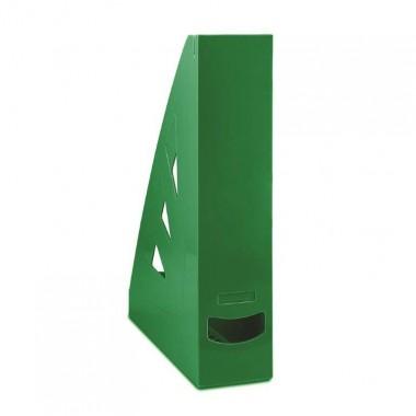Stovas brošiūroms plastikinis, žalias