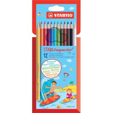Pieštukai spalvoti akvareliniai12vnt.