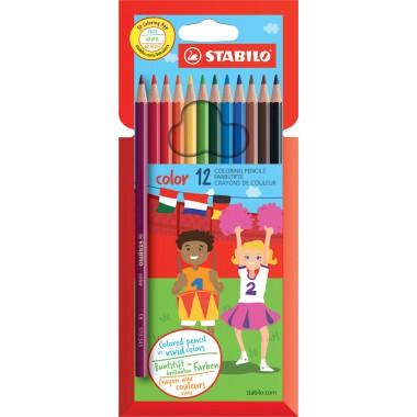 Spalvoti pieštukai 12vnt.