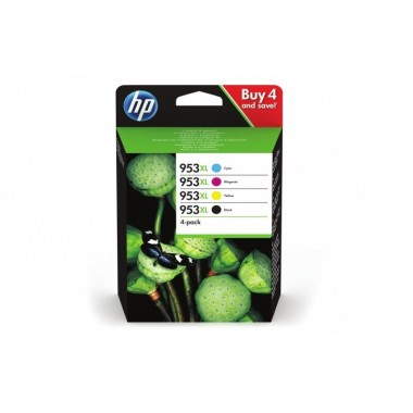 HP Ink No.953 XL Value Pack (3HZ52AE)