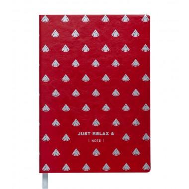 Knygutė RELAX A5, 96lap., lang., raudona